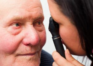 Home Care Services in Springfield PA: Senior Dry Eyes
