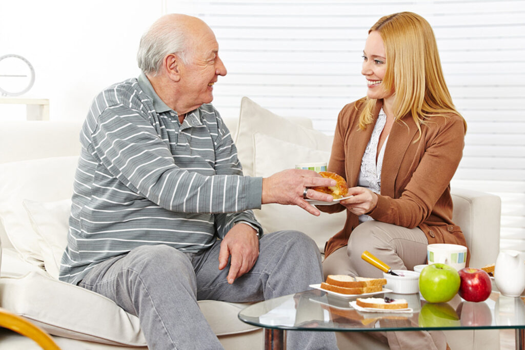 Elderly Care in Chester PA: Dinner with Your Senior